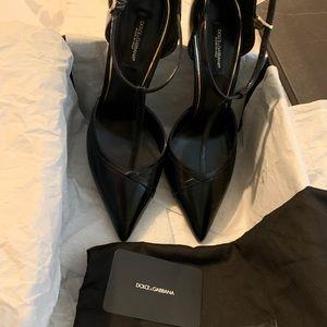 Dolce & Gabbana Décolleté Bellucci Leather Shoes!